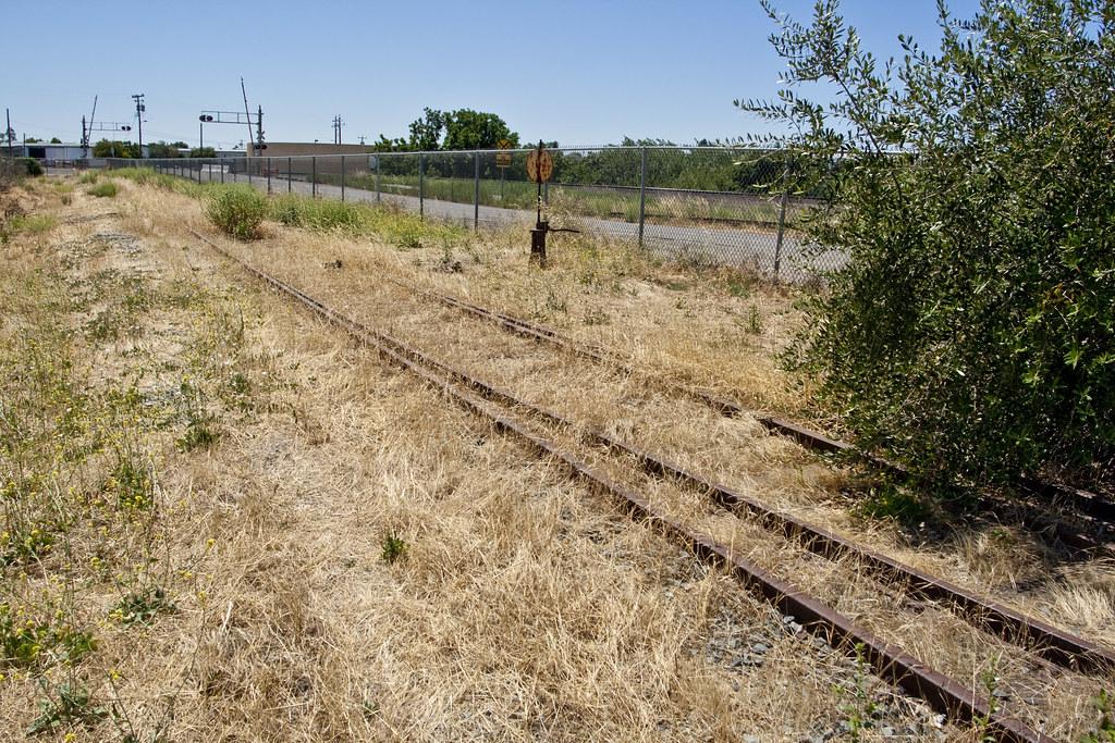 Abandoned Rail Siding Antioch Ca An Abandoned Rail