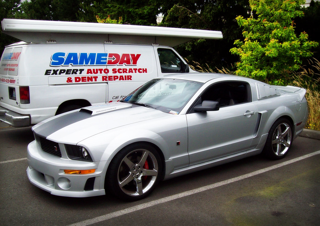 2006 Mustang Bumper >> 2006 Mustang Roush Stage 1 | Sameday Mobile Mustang Rousch… | Flickr