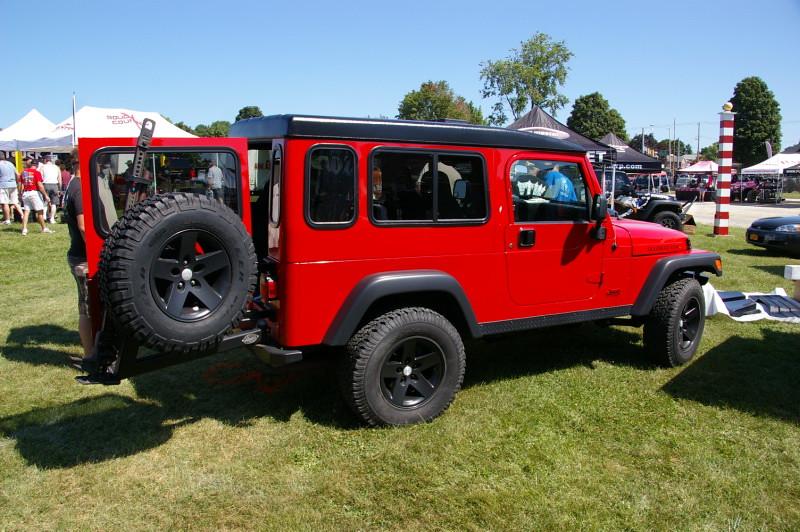 Safari Cab Hardtop On A Jeep Wrangler Tj Unlimited Flickr