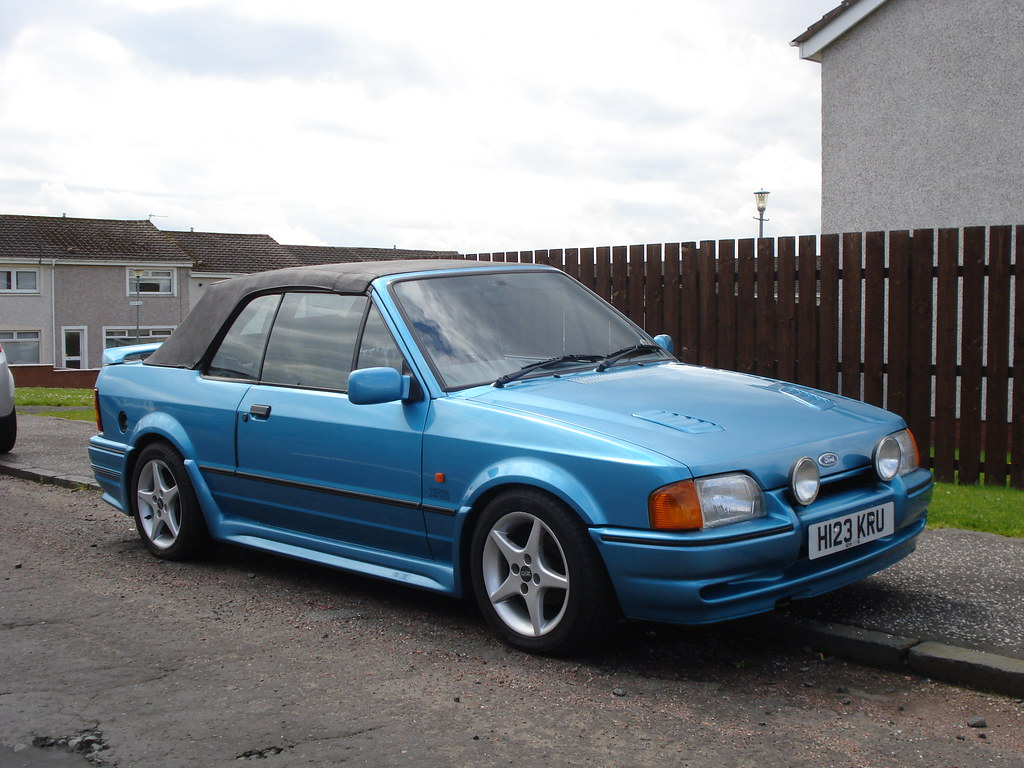 1990 ford escort cabriolet surprisingly not an xr3i flickr. Black Bedroom Furniture Sets. Home Design Ideas