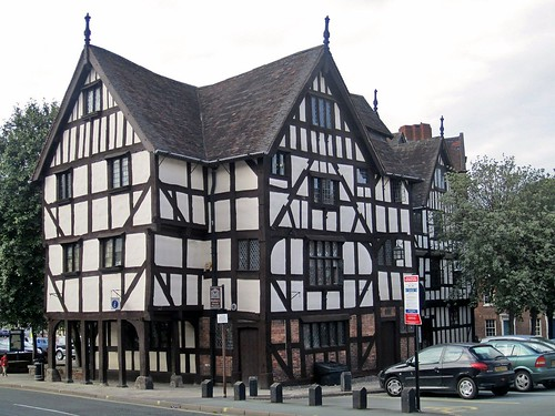 Rowley S House Half Timbered Mansion In Shrewsbury Engla
