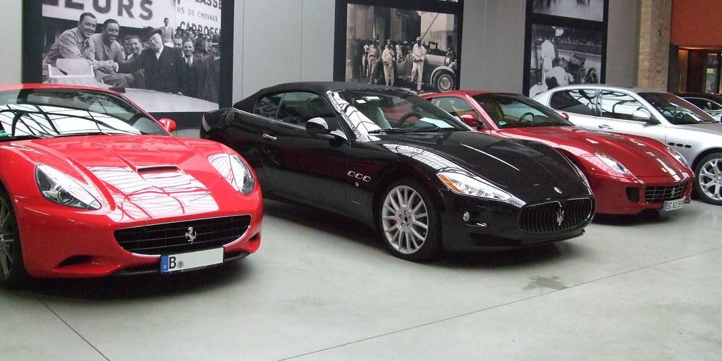 Scuderia Ferrari Maserati Berlin Meilenwerk Transaxle Ca Flickr