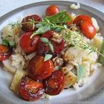 Birnenrisotto mit Aceto Schmortomaten