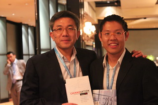 Chua Kee Lock, President and CEO of Vertex Venture Holdings with Tan Yinglan (Chinnovation) | by chinnovation