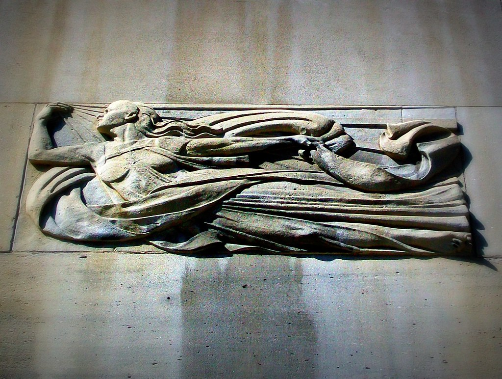 1932 Art Deco Bas Relief, Toronto Hydro Building | ....Toron ...