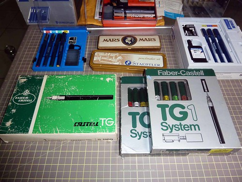 Faber Castell TG technical pen sets | by betolung