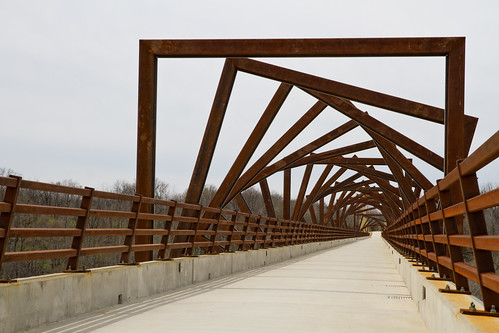 High Trestle Trail Bridge Artwork | by w4nd3rl0st (InspiredinDesMoines)