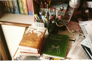 messy desk | by c. f. moura