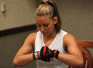 Strikeforce: Fedor v Henderson - Open Workouts - Miesha Tate | by showtime_sports
