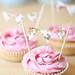 bunting cupcakes