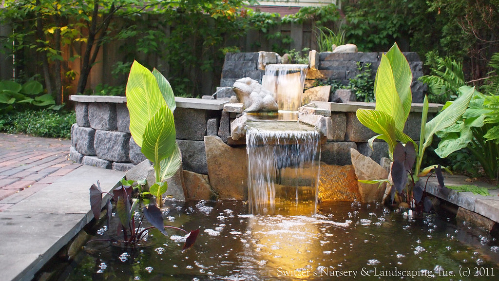 Koi pond lighting ideas Low Voltage Minnesota Landscape Design Inspired By Bali Natural Stone Water Feature Koi Pond Water Kampoengclub Minnesota Landscape Design Inspired By Bali Natural Stonu2026 Flickr