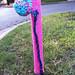 Yarn bombing at 32nd & Lafayette