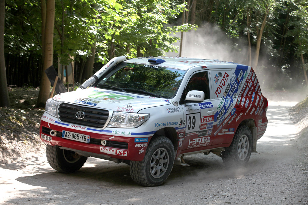 Dakar Rally Toyota Land Cruiser Highlights From Toyota