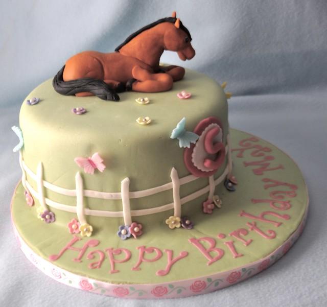 Horse Cake Chocolate Zucchini Cake With Milk Chocolate