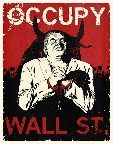 """Occupy Wall Street"" Poster 