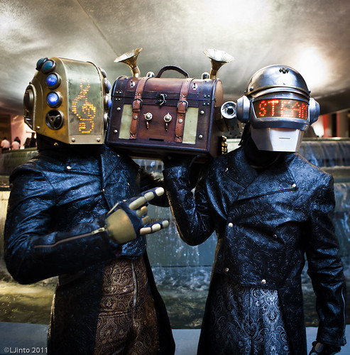 DragonCon Steampunk Daft Punk-3 | by LJinto