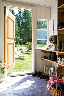 a lovely cottage in småland, sweden | by the style files