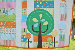 Little Happier Tree Quilt - tree | by Diane {from blank pages...}