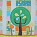Little Happier Tree Quilt - tree