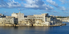 Fort St Angelo from Villa Bighi - Kalkara, Malta