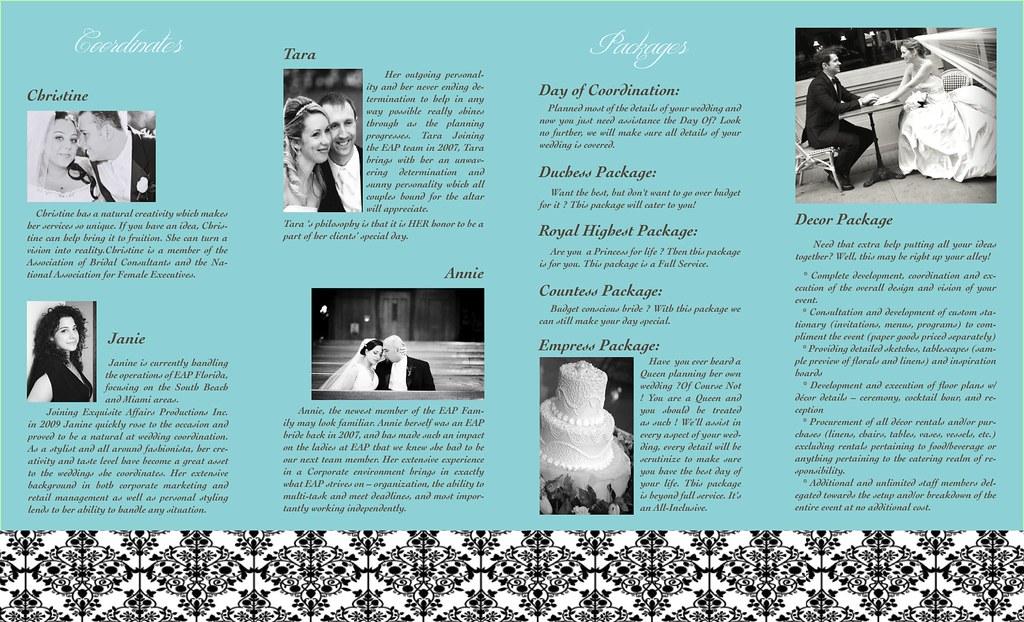 Wedding planner brochure practice p2 wedding planner broch flickr for Wedding planner brochure