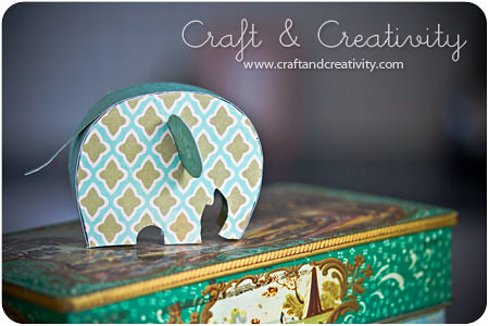 Craft Of The Day How To Make A Paper Elephant Blogged Her Flickr