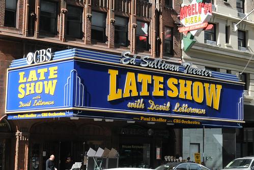 The Late Show with David Letterman @ Ed Sullivan Theatre