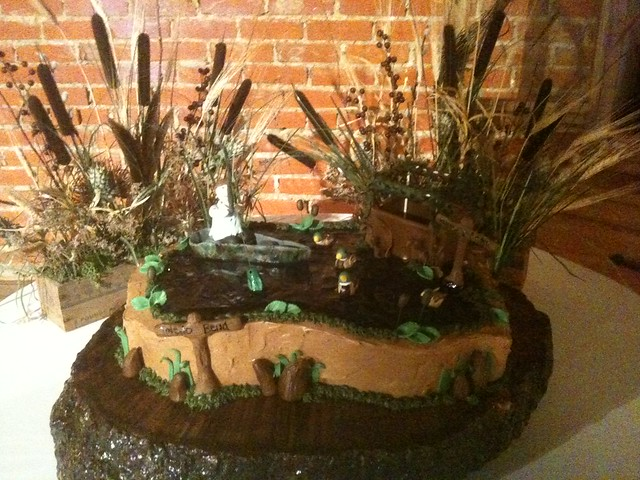 Duck hunting and fishing grooms cake flickr photo sharing for Hunting and fishing apps