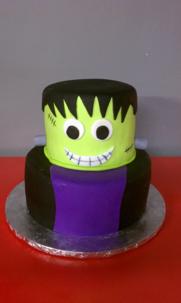 Frankenstein Birthday Cake Clarissa Lopez Flickr