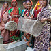 Women and their baskets, Bangladesh. Photo by WorldFish, 2004