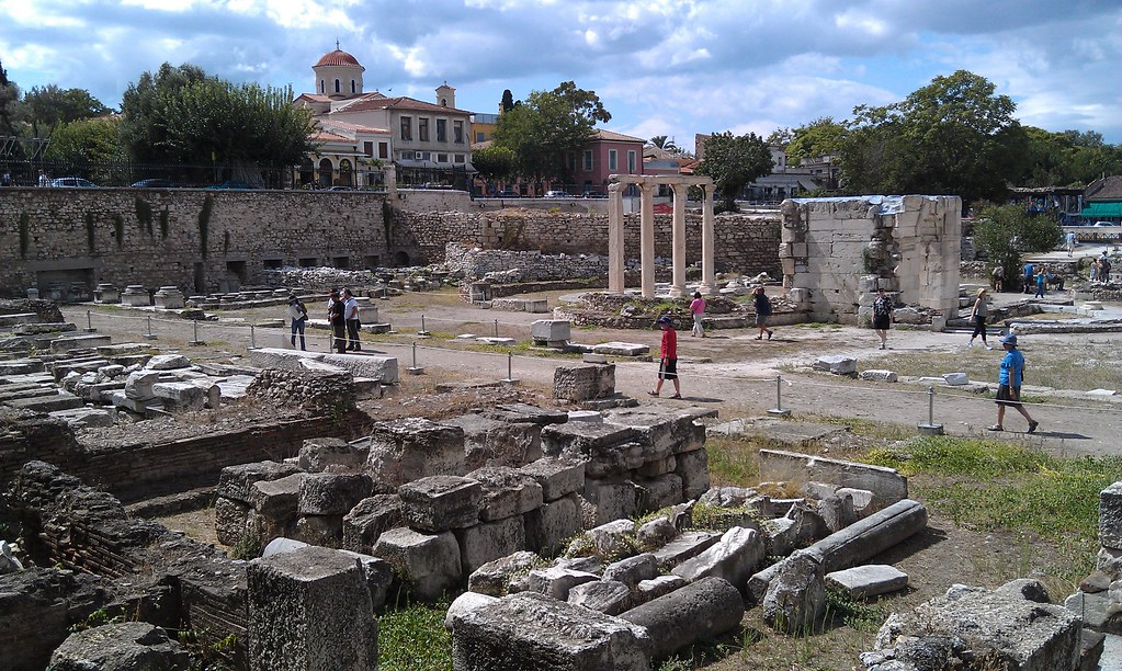 Ancient Market (Agora) in Athens, Greece | Visitors ...