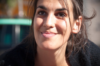 "49 ~ ""Occupy Lisbon"": Daniela one of the faces of the movement 