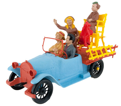"BEVERLY HILLBILLIES CAR"" WIND-UP TOY"