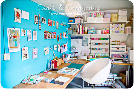 My craft room | by Craft & Creativity