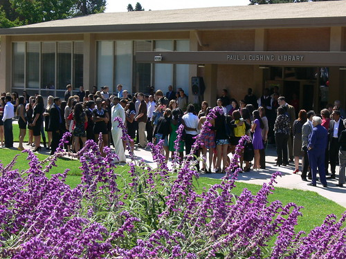 Convocation in front of Cushing Library on Corrigan Courtyard 2010 | by Holy Names University