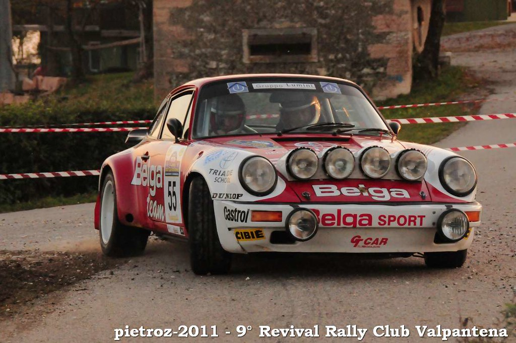 Dsc 6008 Porsche 911 Scrs 3 0 Quot Team Belga Quot Rally Club