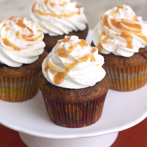 Pumpkin Spice Latte Cupcakes | by Tracey's Culinary Adventures