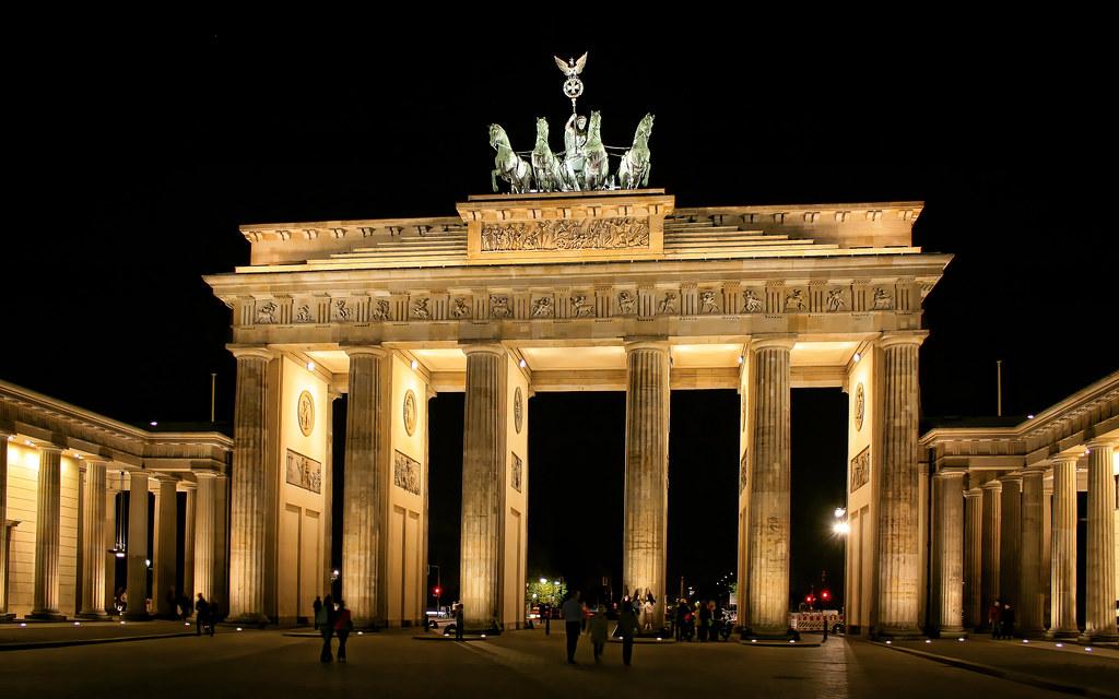 Berlin Brandenburger Tor 05 The Brandenburg Gate