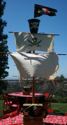 Pirate Ship Table Masts For Tables At