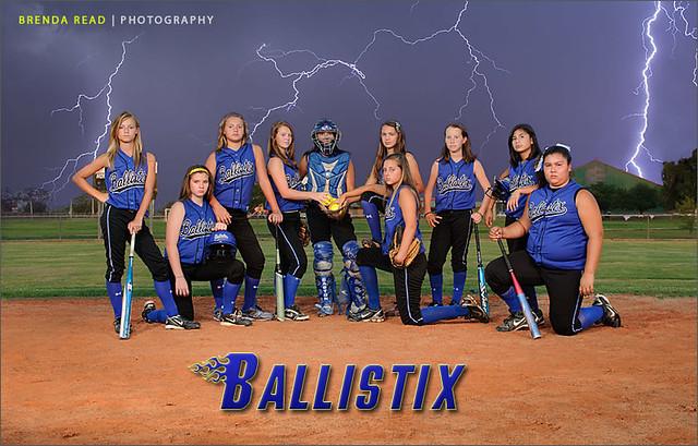 Usfa ballistix softball team from lake jackson tx for Team picture ideas
