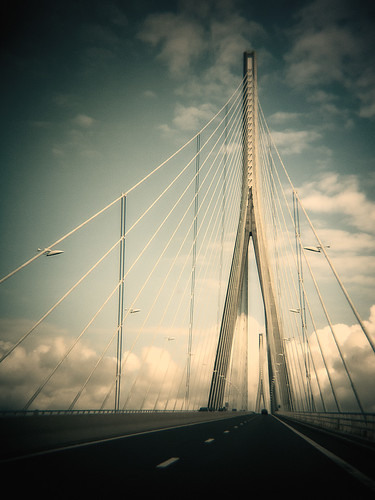 Pont de Normandie | by Janine4d