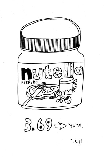 07.05.11 / Nutella | by kate*