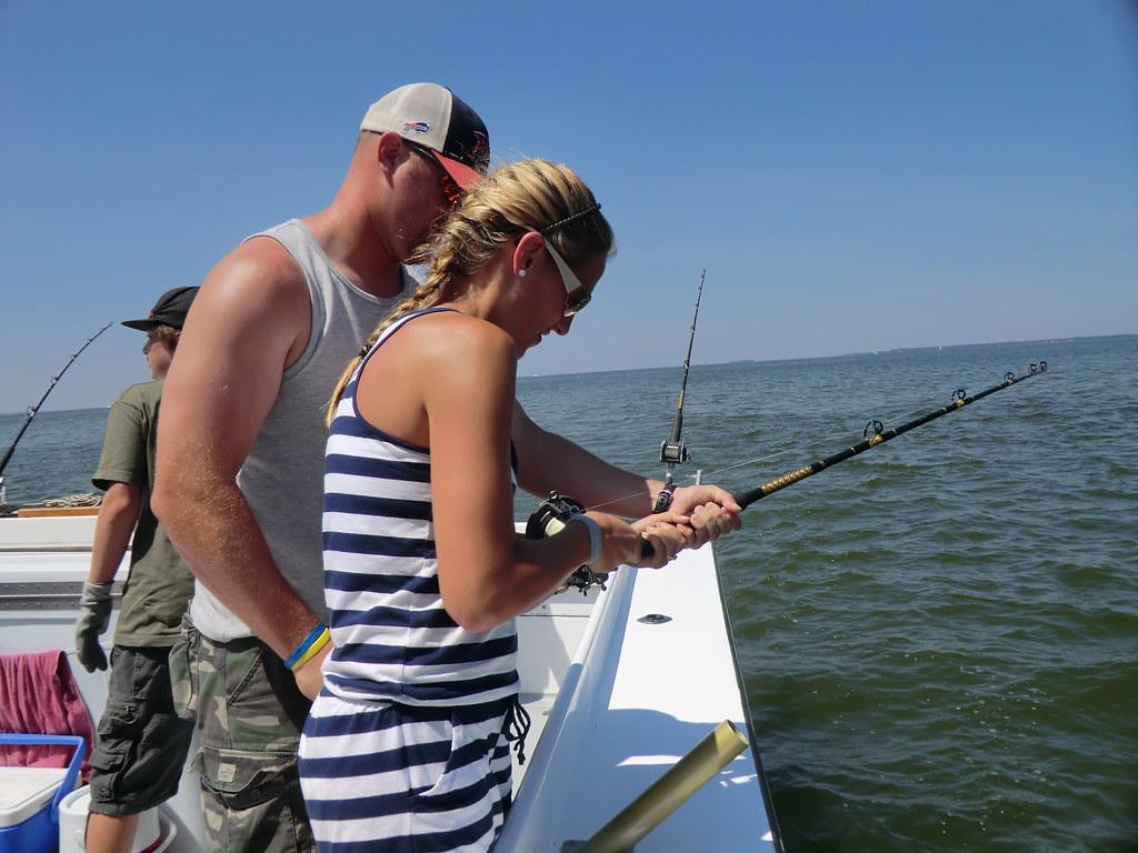 Photo of charter boat fishing