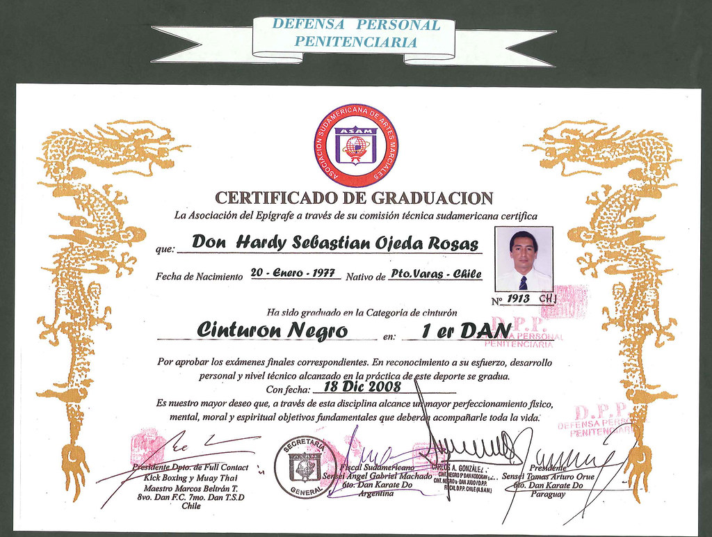 Certificado Def Per Penitenciaria | ACADEMIA DE ARTES MARCIALES Y ...