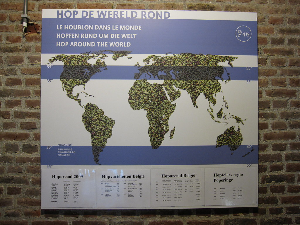 hop growing regions of the world