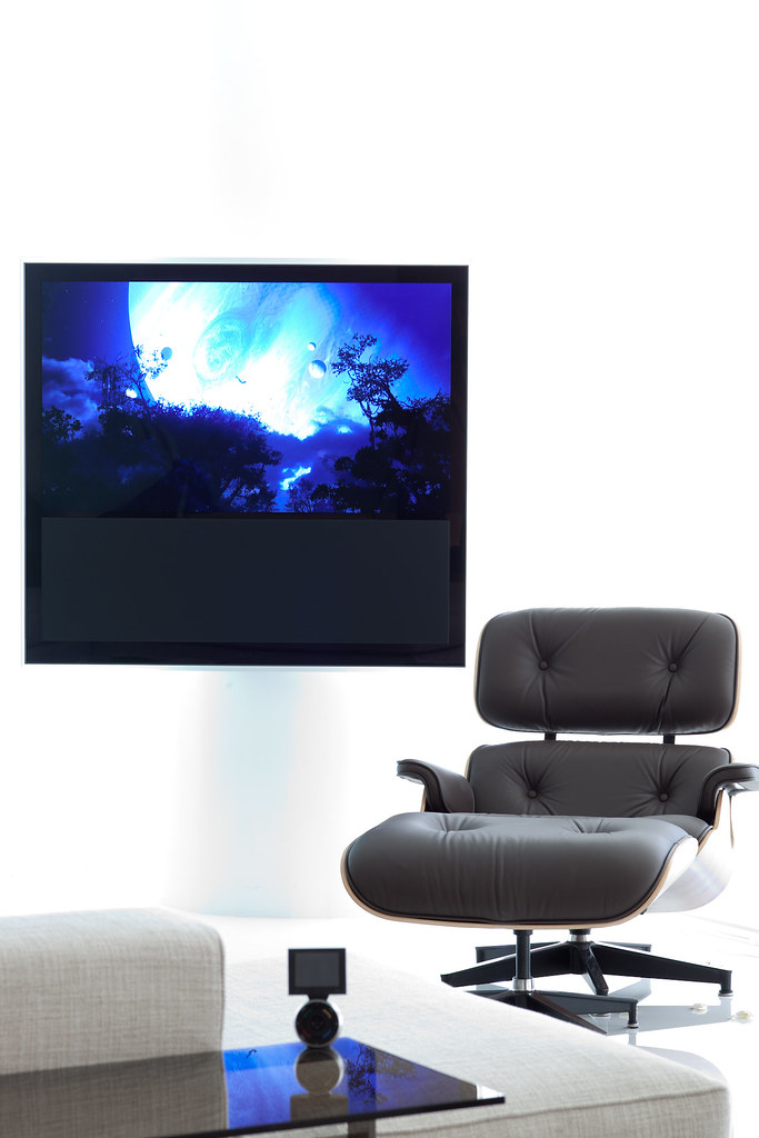 ... Bang U0026 Olufsen TV With Eames Lounge Chair | IMG_2567 | By Jikatu