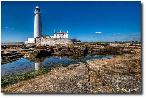 St. Mary's Lighthouse, Northumberland | by carrmp