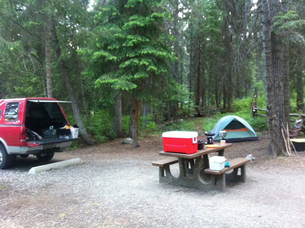 Camping Last Chance Campground North Of Mccall Idaho
