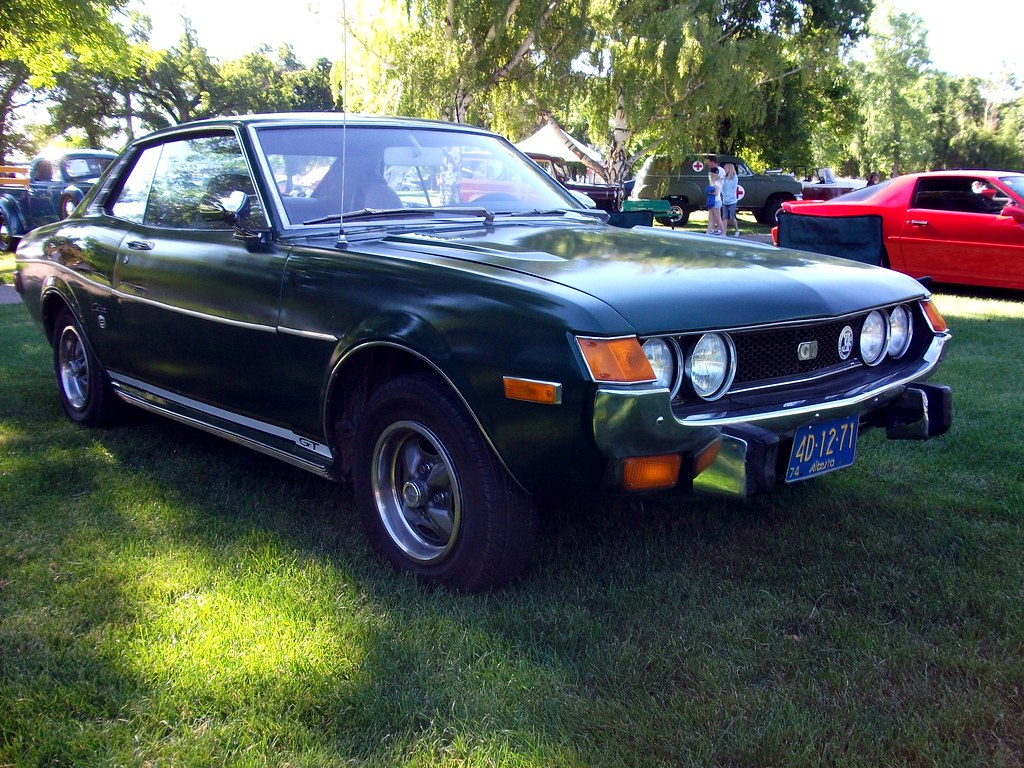 1974 Toyota Celica One Of The Few Other Japanese Cars At
