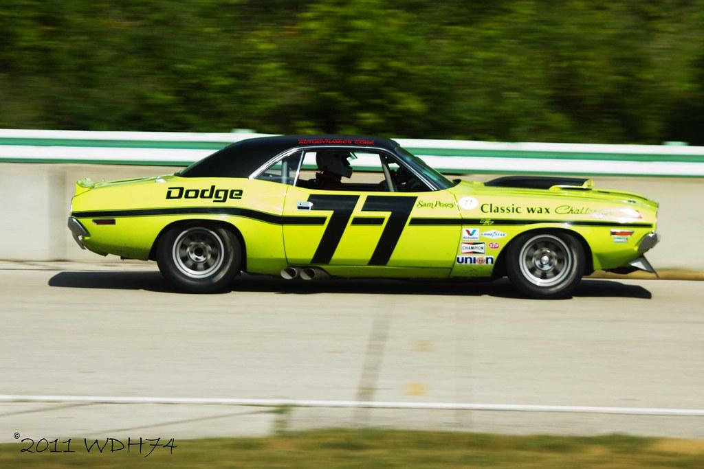 ... | Ex-Sam Posey Dodge Challenger. A genuine Trans-… | Flickr